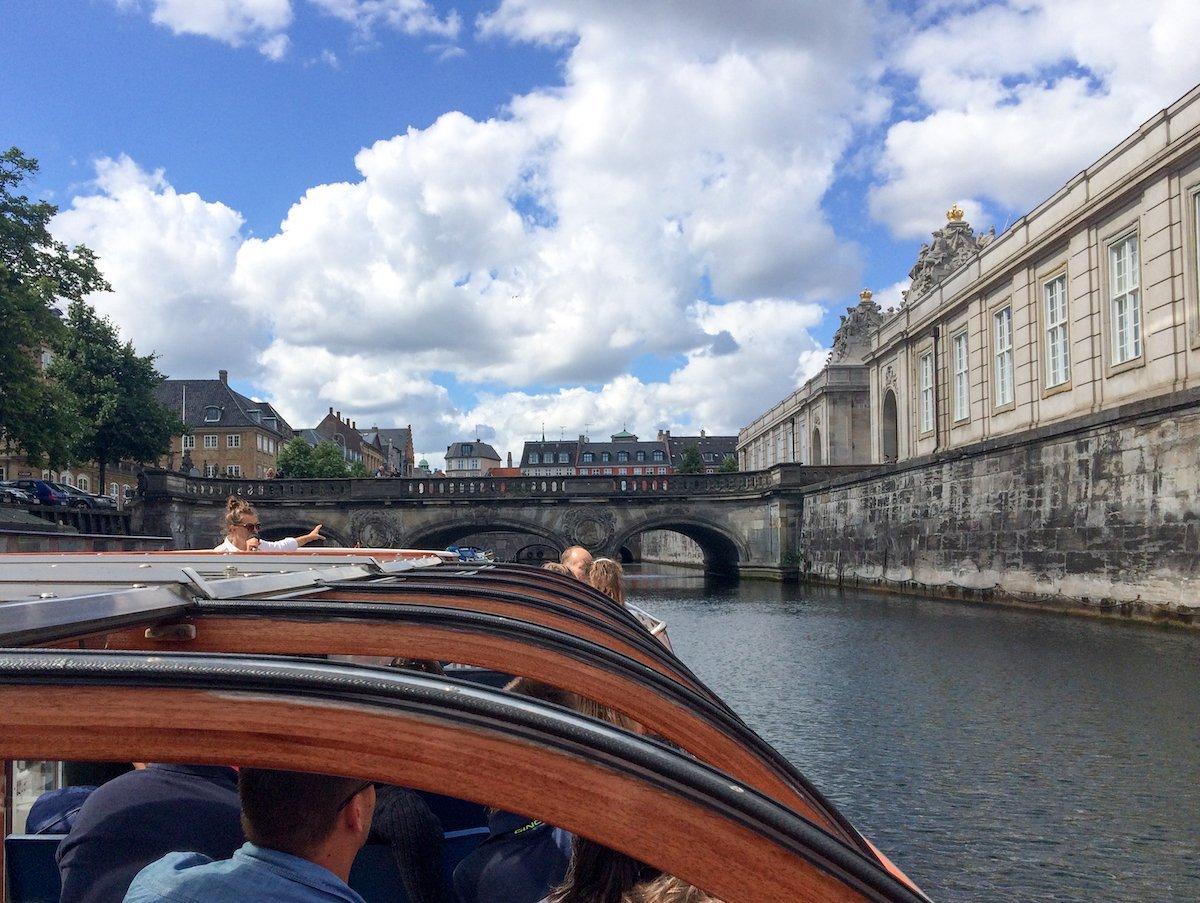 Canal tour Copenhagen with kids