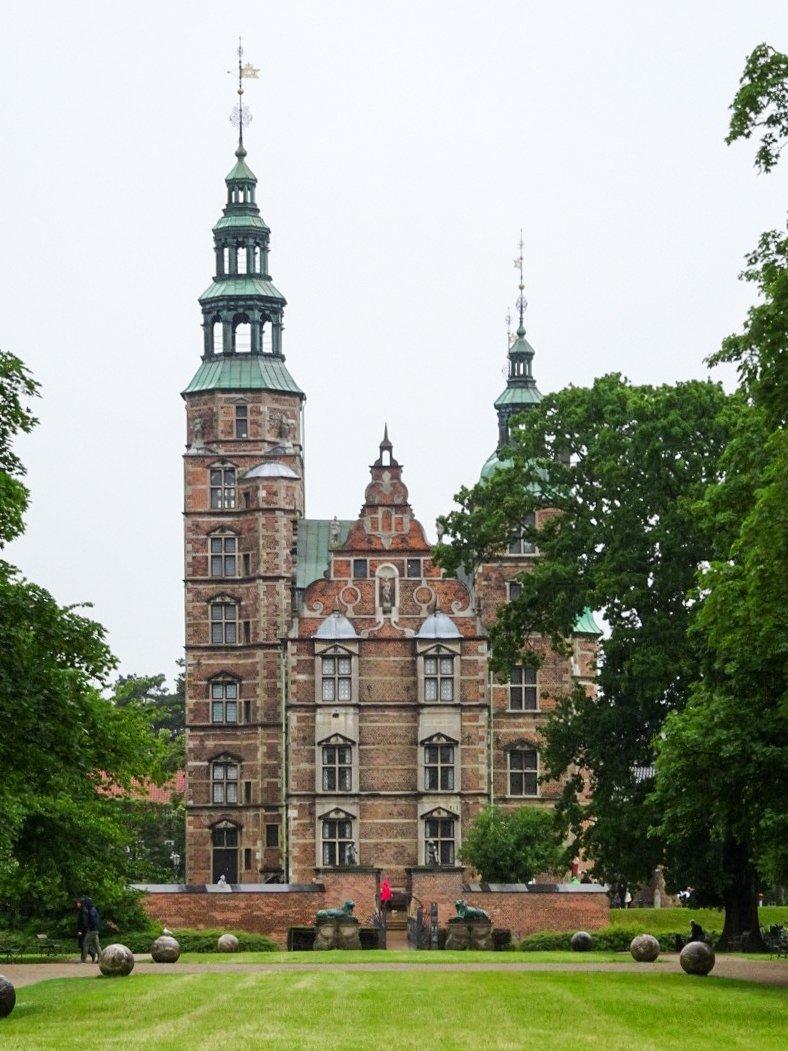 Rosenborg Castle things to do in Copenhagen with kids